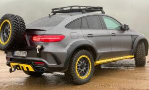 Mercedes GLE Safari TopCar