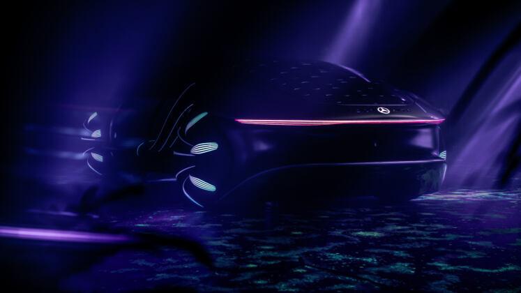 Mercedes Vision AVTR CES 2020
