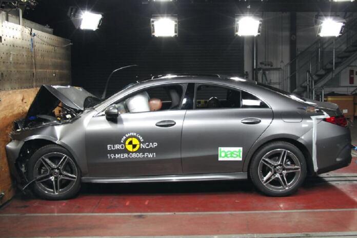 Nuova Mercedes CLA ANCAP