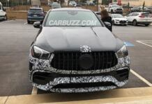 Nuovo Mercedes-AMG GLE 63 Coupé foto spia