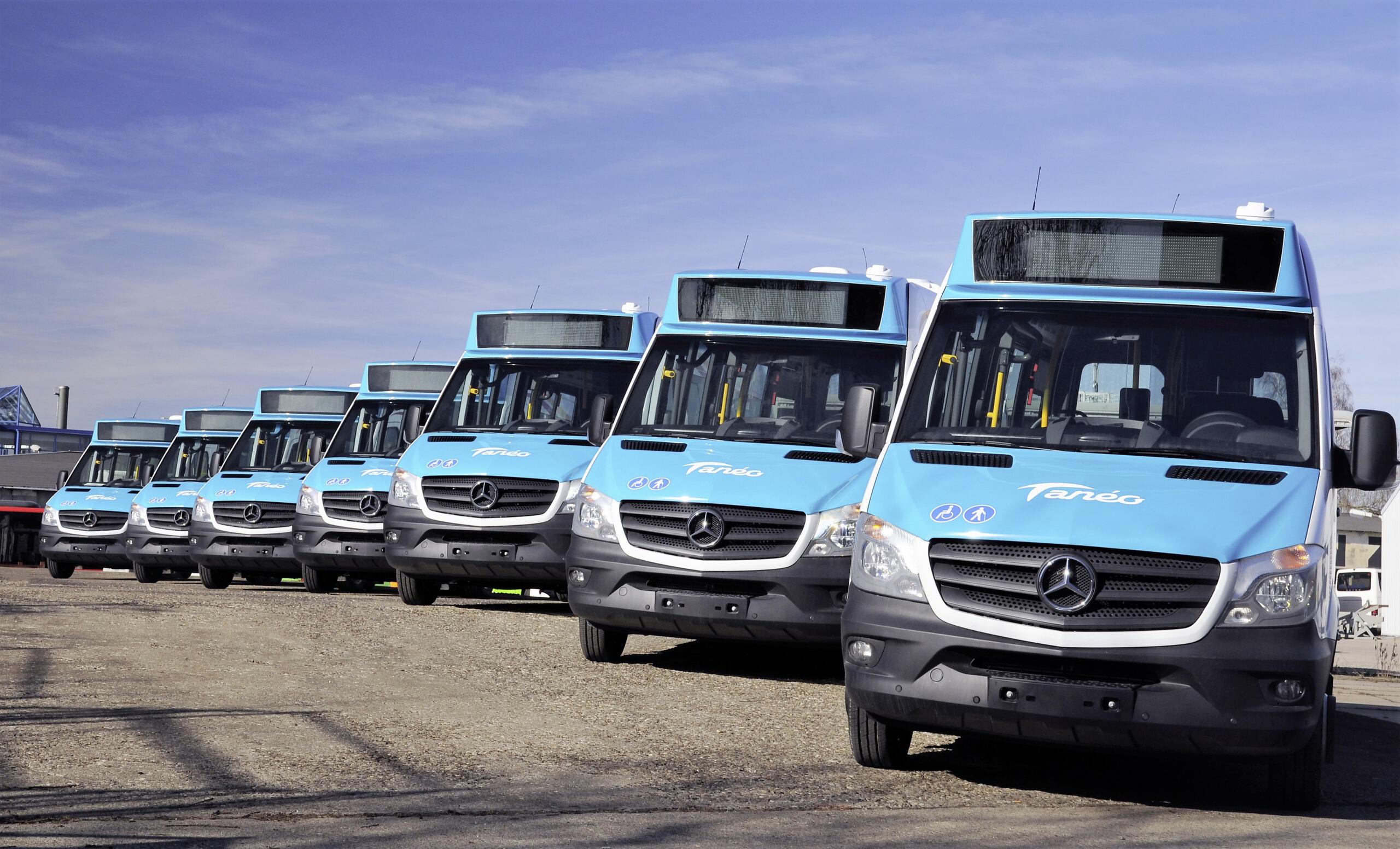 Daimler nuovi autobus Nuova Caledonia
