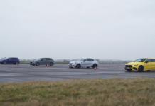 Mercedes-AMG A 45 S vs BMW M2 vs Audi RS3 vs Volkswagen Golf R Carwow