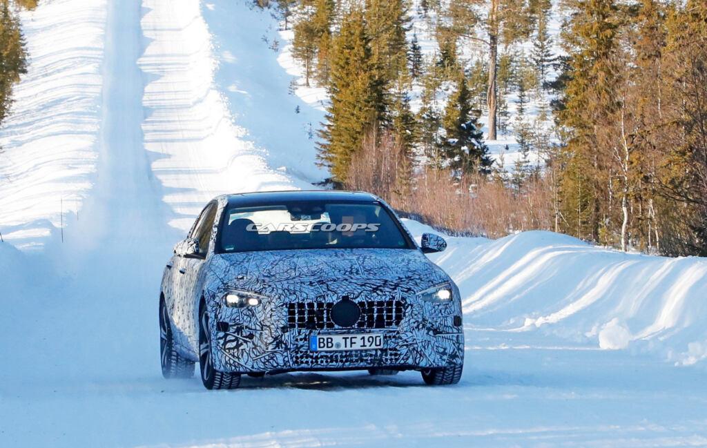 Mercedes-AMG Classe C 2021 foto spia