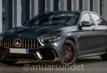 Mercedes-AMG E 63 2021 render