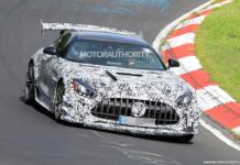 Mercedes-AMG GT R Black Series 2021 Nurburgring