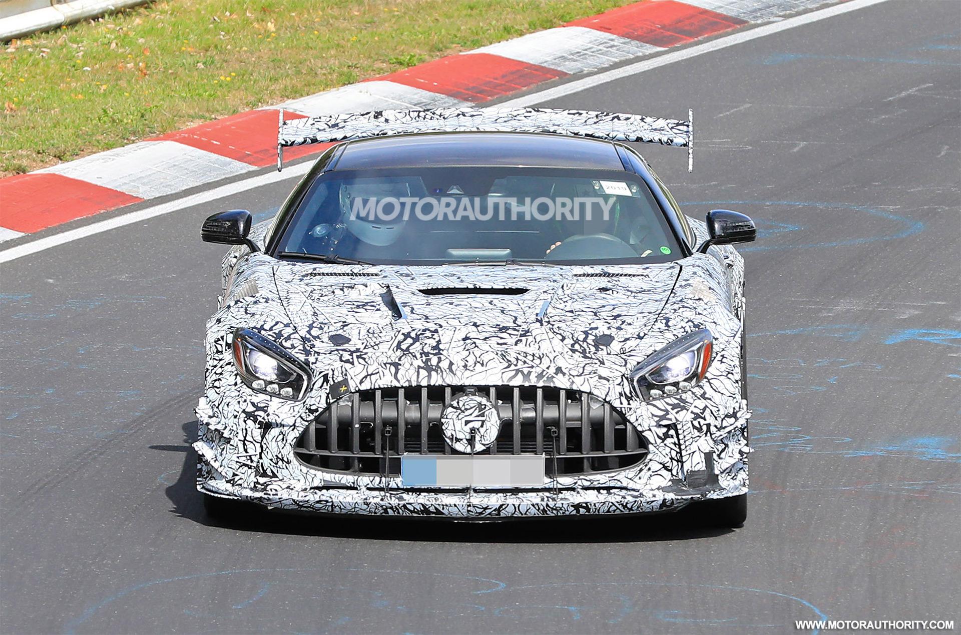 Mercedes-AMG GT R Black Series 2021 Nurburgring