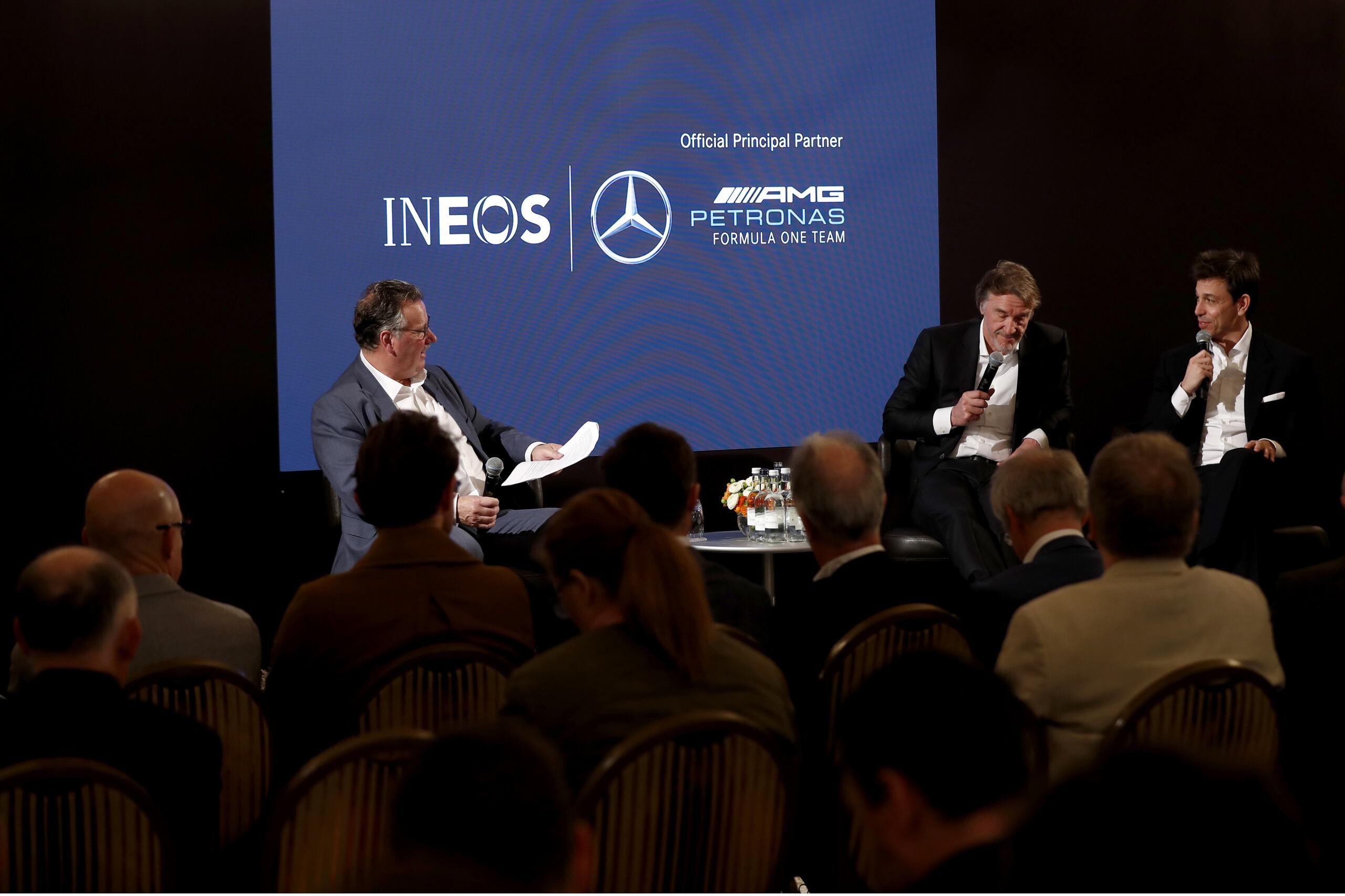 Mercedes-AMG Petronas INEOS partnership principale