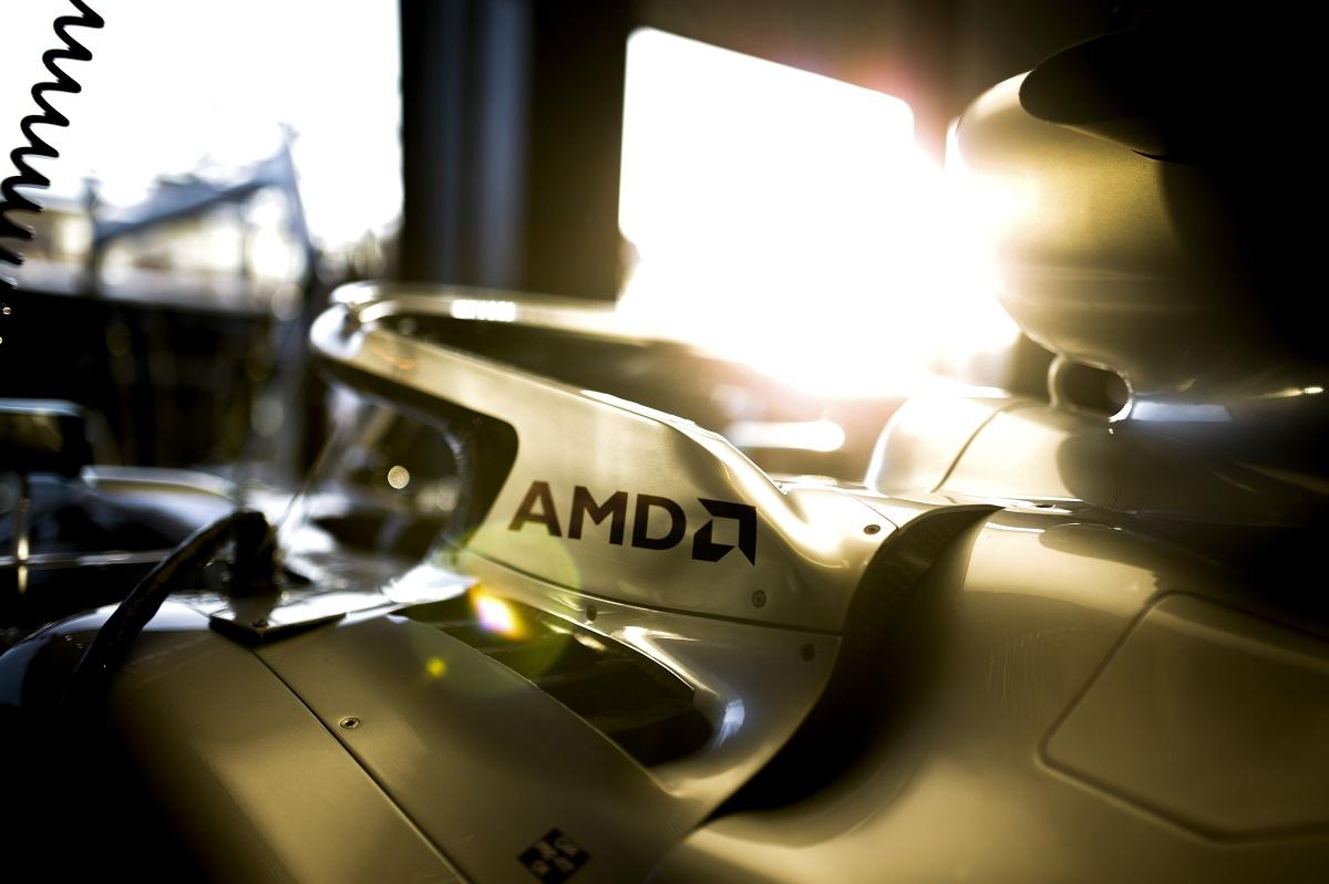 Mercedes-AMG Petronas partnership AMD