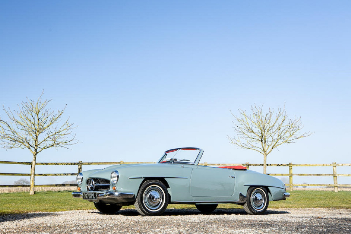 Mercedes-Benz 190 SL Convertible 1962 asta