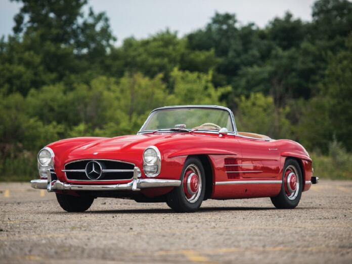 Mercedes-Benz 300 SL Roadster 1957 asta