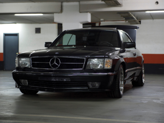 Mercedes-Benz 560 SEC AMG 6.0 Widebody 1990 asta