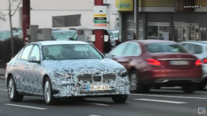 Mercedes Classe C 2021 test Germania