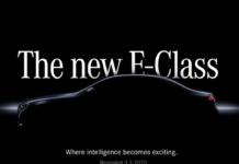 Mercedes Classe E 2021 teaser