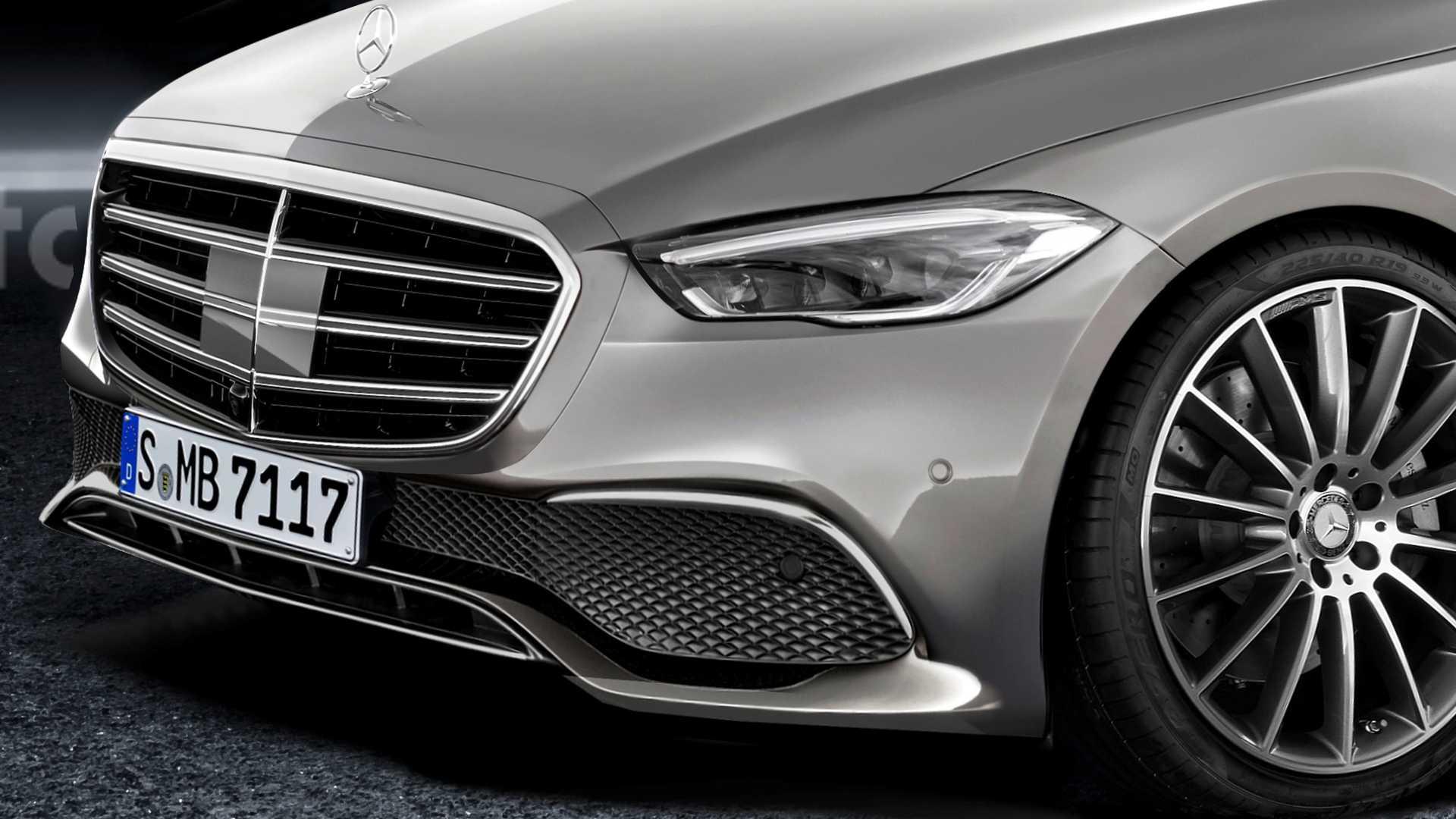 Mercedes Classe S 2021 render