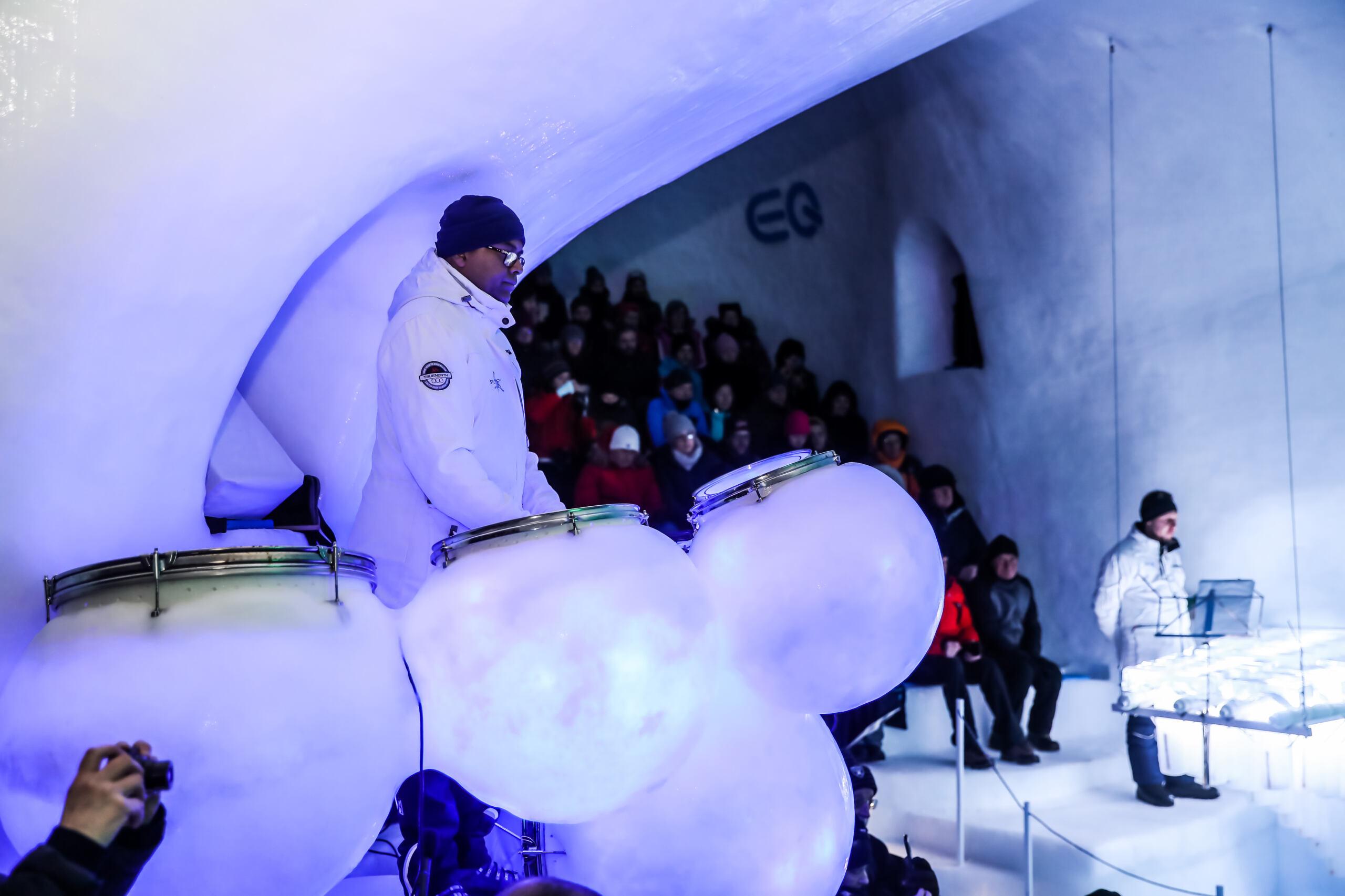 Mercedes Ice Music Festival