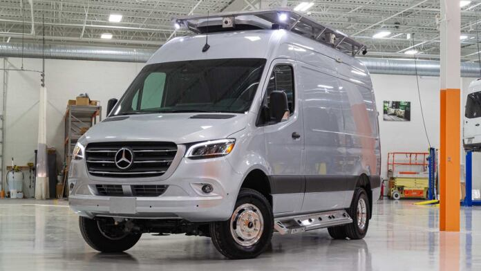Mercedes Sprinter The Last Resort