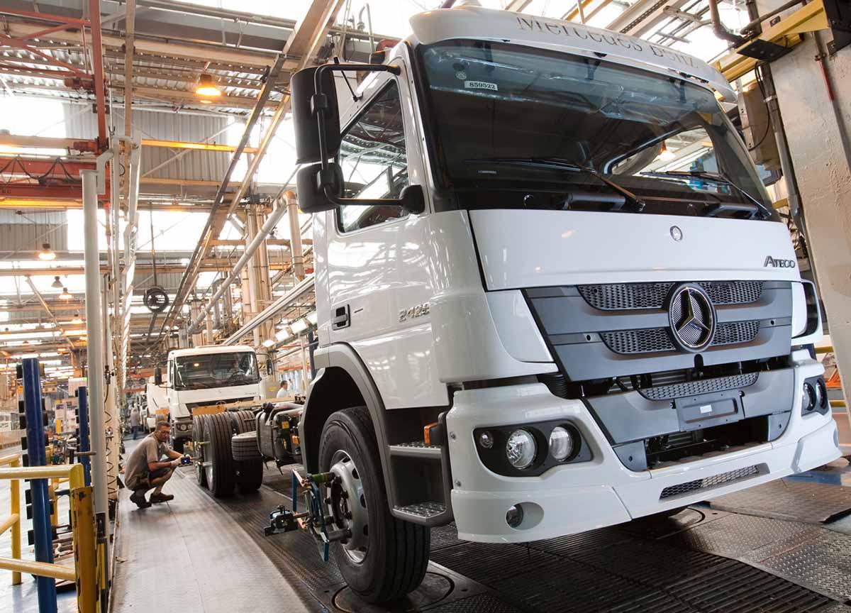 Mercedes camion Brasile
