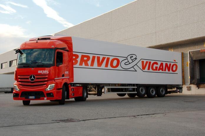 Nuovo Mercedes Actros Brivio & Viganò