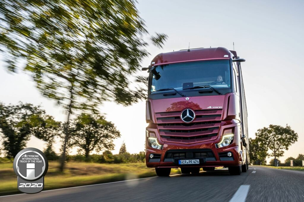 Nuovo Mercedes Actros International Truck of the Year 2020