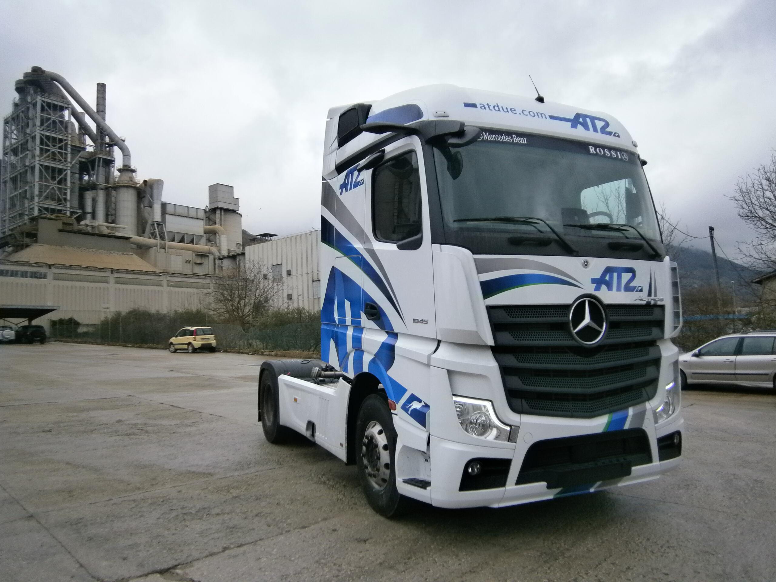 Nuovo Mercedes Actros LC3 Trasporti e A. T. DUE