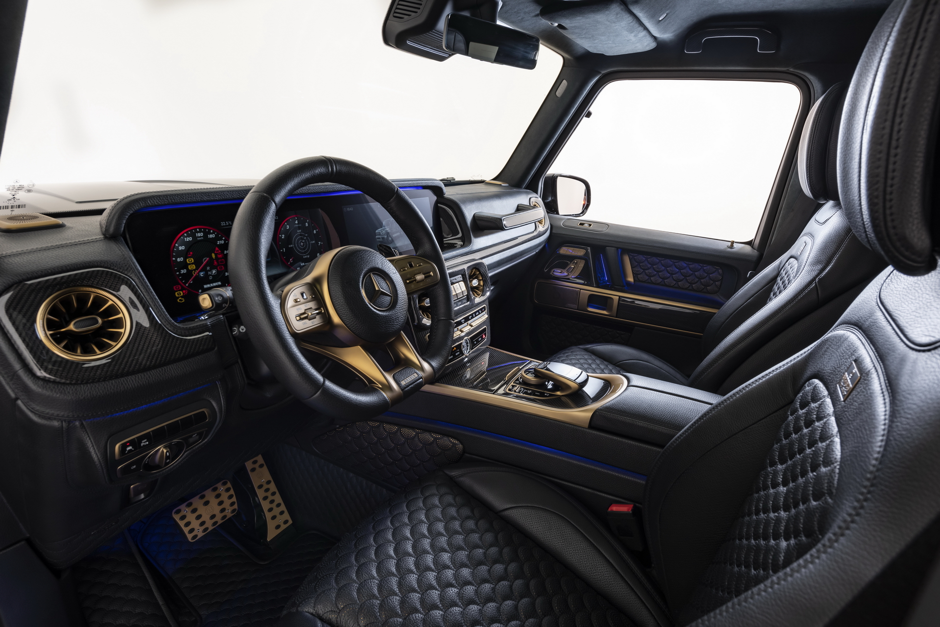 Brabus 800 Black & Gold Edition G 63