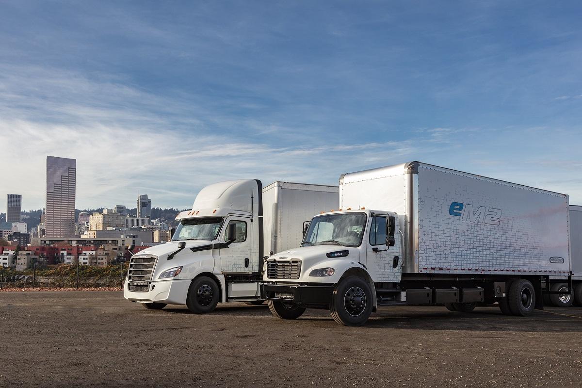 Freightliner eCascadia e eM2
