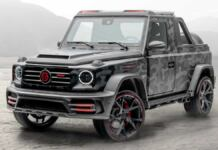 Mansory Star Trooper Pickup Edition G 63