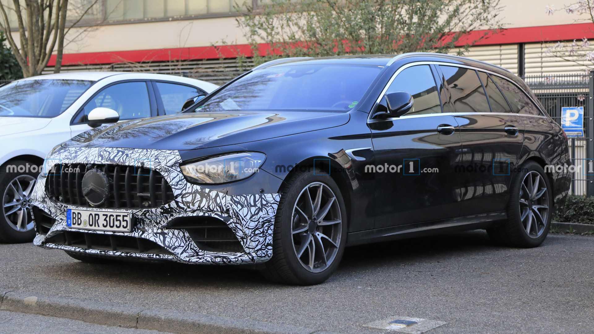 Mercedes-AMG E 63 Wagon 2021 foto spia