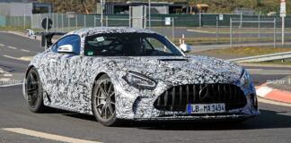 Mercedes-AMG GT R Black Series Nurburgring