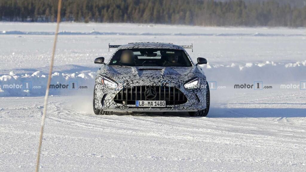 Mercedes-AMG GT R Black Series neve