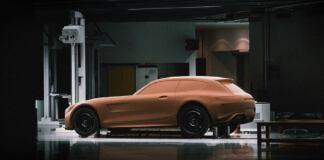 Mercedes-AMG GT Shooting Brake creta