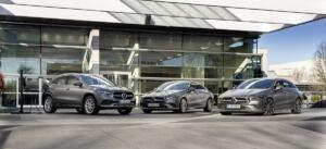 Mercedes CLA, CLA Shooting Brake e GLA ibridi plug-in