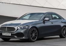 Mercedes Classe C 2021 render
