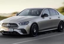 Mercedes Classe C 2022 Kolesa render