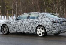 Mercedes Classe C AMG foto spia