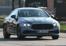 Mercedes Classe E 2021 coupé foto spia