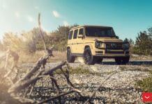 Mercedes Classe G Desert Sand cerchi Vossen
