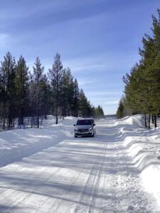Mercedes EQV test invernali
