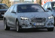 Nuova Mercedes-Maybach Classe S produzione foto spia