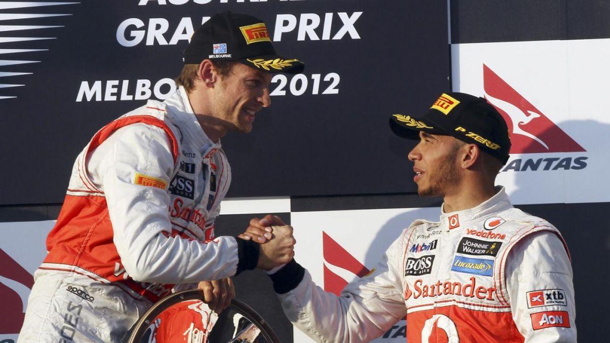 Button e Hamilton