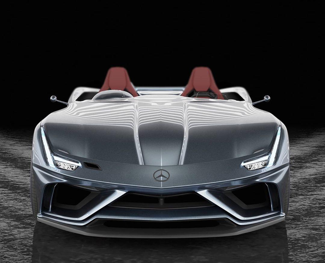 Mercedes-AMG GT Speedster render