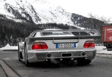 Mercedes-Benz CLK GTR Svizzera