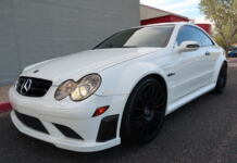 Mercedes CLK 63 AMG Black Series 2008 asta