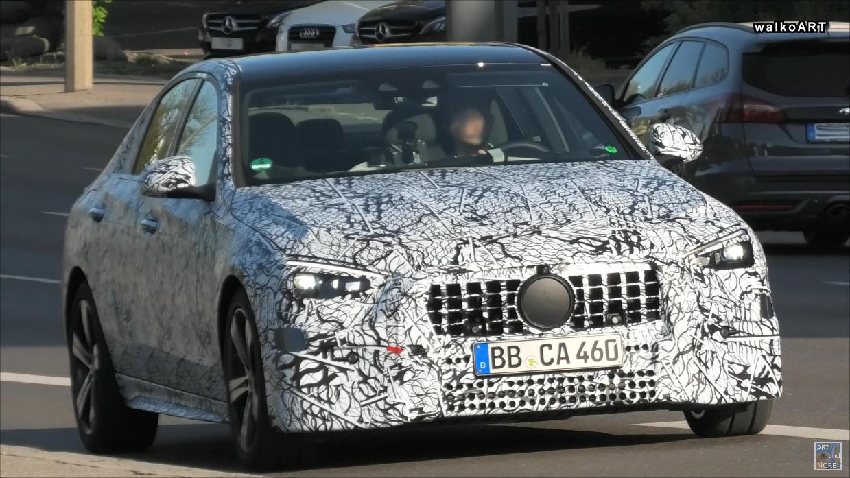 Mercedes Classe C 2021 nuovo prototipo