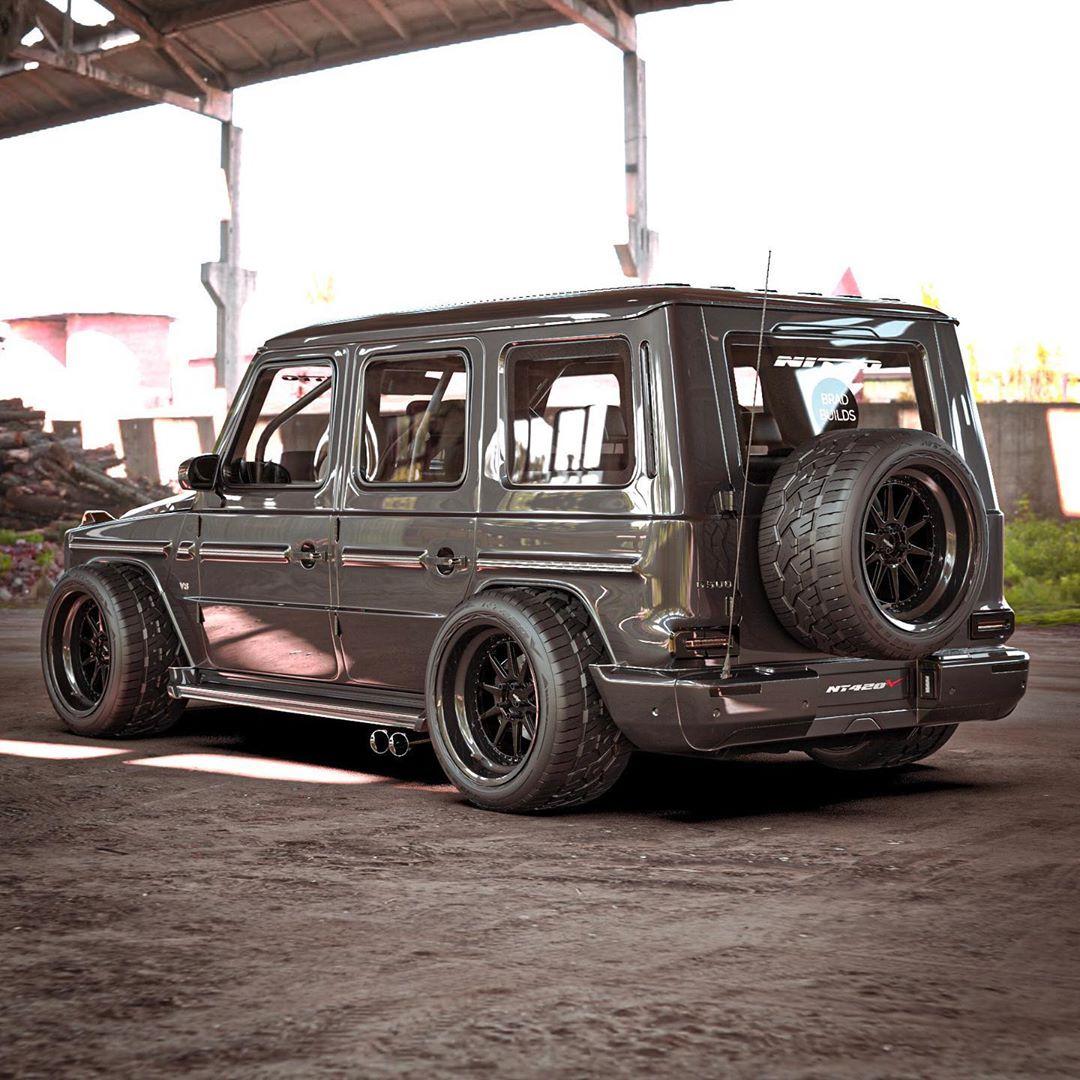 Mercedes Classe G Nitto Tire