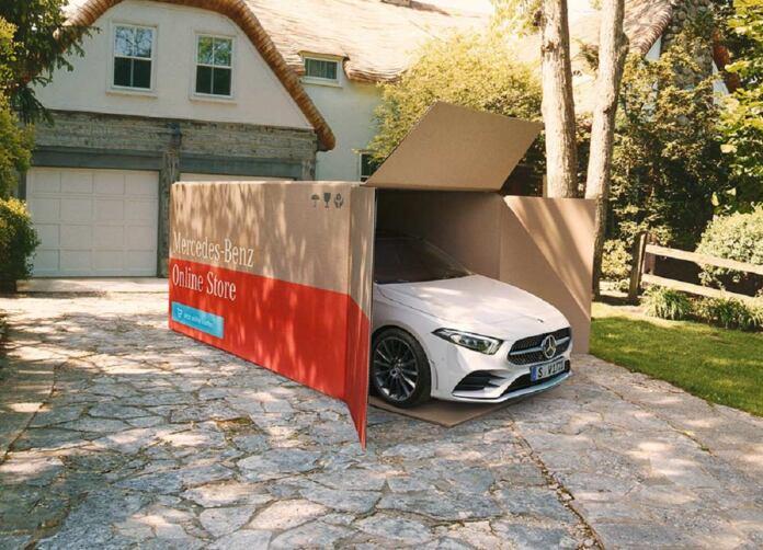 Mercedes consegna veicoli domicilio
