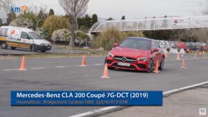 Nuova Mercedes CLA test alce