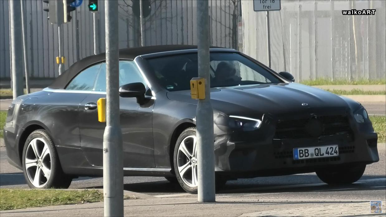 Nuova Mercedes Classe E Cabrio foto spia
