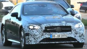 Nuova Mercedes Classe E Coupé foto spia