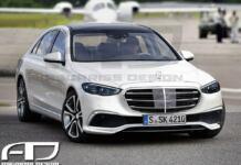 Nuova Mercedes Classe S Ascariss Design render